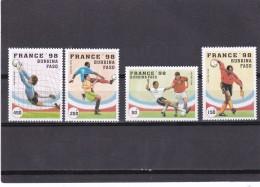 Burkina Faso Nº 995 Al 998 - Burkina Faso (1984-...)