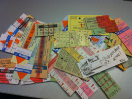 Lot De Tickets Métro Lausane Ouchy - Subway