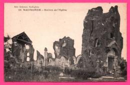 Radinghem - Ruines De L'Église - Imprimerie LANOE - Édit. DELESTREZ à Radinghem - France