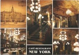 C3077 Budapest - Cafè Restaurant New York / Non Viaggiata - Hungría