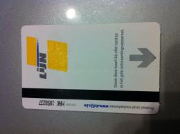 Ticket De Métro Anvers - Subway
