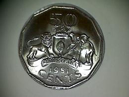 Swasiland 50 Cents 1981 TTB - UNC - Swaziland