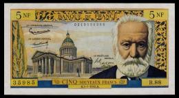 France 5 Francs 5.7.1962 VF+ - 5 NF 1959-1965 ''Victor Hugo''