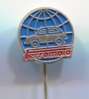 FERROMOTO - Car, Auto, Automotive, Vintage Pin, Badge - Opel