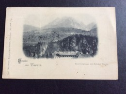 Italia > FRIULI UDINE TARVIS ,MANNHARTGRUPPE MIT BAHNHOF,CARL OTTO HAYD KUNSTVERLAG  Nr,5018., AK ,CARTOLINA PRIMA 1904 - Udine