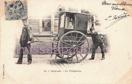 60 - BEAUVAIS - La Vinaigrette - Voiture à Porteur  - 1903 - 2 Scans - Beauvais