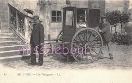 60 - BEAUVAIS - La Vinaigrette - Voiture à Porteur  - Dos Vierge TTBE  - 2 Scans - Beauvais