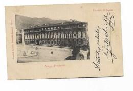 RICORDO DI MASSA PALAZZO PROVINCIALE VIAGGIATA FP 1910 - Massa