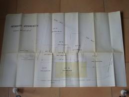 Gemeente STERREKEEK Wijk A ( V. Decourt Landmeter - Schatter Machelen ) Anno 19?? ( Zie Foto´s Voor Detail ) ! - Cartes