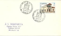 Espana 1974 Sevilla >> Bilbao / Sello Plaza Nueva - 1931-Aujourd'hui: II. République - ....Juan Carlos I