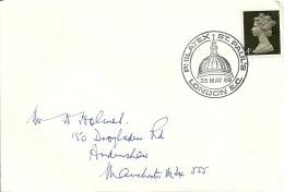 UK 1969 London >> Manchester / Philatex St. Pauls - Lettres & Documents