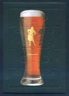 Cerveza *Voll Damm - Oktoberfest* Postal-Puzzle. Meds: 105 X 149 Mms. - Otras Colecciones