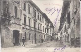 Tolmezzo (Udine)1906 - Saluti Da Tolmezzo - Animata - Autres Villes