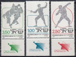 Israel 1977 Nº 642/44 Nuevo (con Tab) - Israel