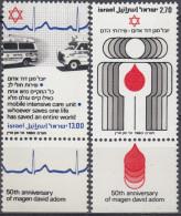Israel 1980 Nº 762/63 Nuevo (con Tab) - Israel