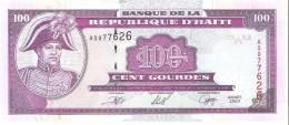 Haiti - Pick 268 - 100 Gourdes 2000 - Unc - Haiti
