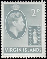 VIRGIN ISLANDS BRITISH - Scott #79 King George VI (*) / Mint H Stamp - British Virgin Islands