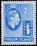 VIRGIN ISLANDS BRITISH - Scott #80 King George V (*) / Mint LH Stamp - British Virgin Islands