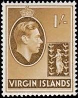 VIRGIN ISLANDS BRITISH - Scott #83 King George VI / Mint LH Stamp - British Virgin Islands