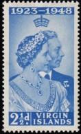 VIRGIN ISLANDS BRITISH - Scott #90 Silver Wedding (*) / Mint H Stamp - British Virgin Islands