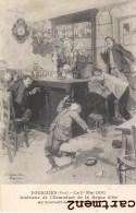 FOURMIES LE 1er MAI 1891 INTERIEUR DE L'ESTAMINET DE LA BAQUE D'OR FUSILLADE FAIT DIVERS JUSTICE 59 NORD - Fourmies