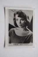 Actress Barbara Kwiatkowska >>  Old Rare Polish Mini Postcard - 1960s - Acteurs