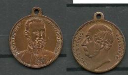 Medaille Deutschland Georg V König V. Hannover - Pièces écrasées (Elongated Coins)