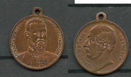 Medaille Deutschland Georg V König V. Hannover - Souvenirmunten (elongated Coins)