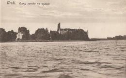 LITUANIE  -  TROKI  -  Ruiny Zamku Na Wyspie - Litauen