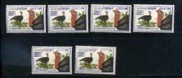 Georgia Local Issues. South Osetia. Surchage. Fauna Domestic Birds MNH - Georgia