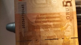 RARE ERROR!!!  50 Euro S Italy With Broken Security Thread - J003 A3 Circulated DUISENBERG - 50 Euro