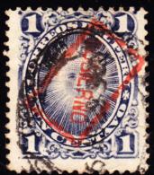 Peru 1890 1c GOBIERNO Overprint Rotated 90°. Scott O2. Used. - Peru