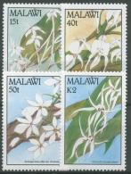 Malawi 1990 Blumen Orchideen 557/60 Postfrisch - Malawi (1964-...)