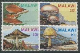 Malawi 1985 Pilze 441/44 Postfrisch - Malawi (1964-...)