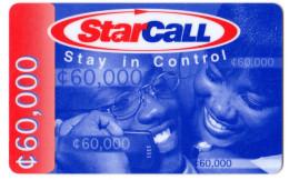 GHANA  Prepayée STARCALL - Ghana