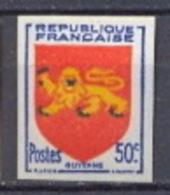 FRANCE Non Dentelé (imperforate) - N° 835  Armoiries De Provinces. Guyenne. - Ungezähnt