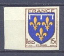 FRANCE Non Dentelé (imperforate) - N° 604  Armoiries De Provinces. Orléanais. - Ungezähnt