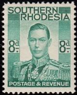 SOUTHERN RHODESIA - Scott #47 King Gerorge VI / Mint H Stamp - Southern Rhodesia (...-1964)