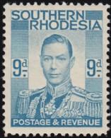 SOUTHERN RHODESIA - Scott #48 King Gerorge VI / Mint H Stamp - Southern Rhodesia (...-1964)