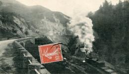 CPA - L'auvergne - Le Lioran - Arrivée D'un Train En Vue Des Tunels  - Circulée En 1910 - TBE - - France