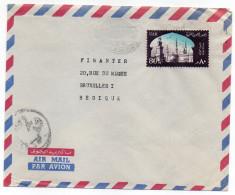Egypte--Lettre De ALEXANDRIE Pour BRUXELLES (Belgique)--timbre Seul Sur Lettre- - Aéreo