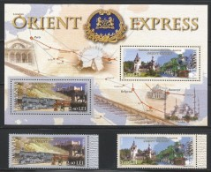 ROMANIA 2010 - TRAIN - ORIENT EXPRESS - MNH - No % On Payment - Trains