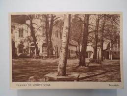 POSTCARD & STAMPS PORTUGAL MONTE REAL TERMAS TERMAL SPA 1940 YEARS - Portugal