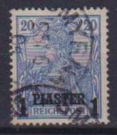 GERMANIA REICH UFFICIO TEDESCO NEL LEVANTE 1900-03  SOPRASTAMPATO YVERT. 13  USATO VF - Occupation