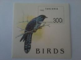 TANZANIA SHEET BIRDS EUROPEAN CUCKOO OISEAUX COUCOU PAJARO CUCO - Cuckoos & Turacos