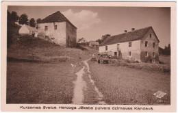 Latvia Lettland 1937 Kandava Kandau Germany, Kurzeme Kurland, Duke Jacob Powder Mill Moulin Muhle - Letonia