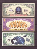 USA 11 BILLETS FANTAISIES THEMES DIVERS UNC - United States Of America