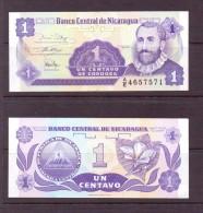 NICARAGUA 1991 4 BILLETS 1-5-10-25 CORDOBA  NEUF UNC P167/70 - Nicaragua