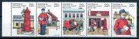 Australia 1980 National Stamp Week 22c Strip Of 5 MNH - 1980-89 Elizabeth II
