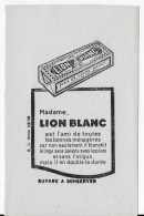 LION BLANC - Carte Assorbenti